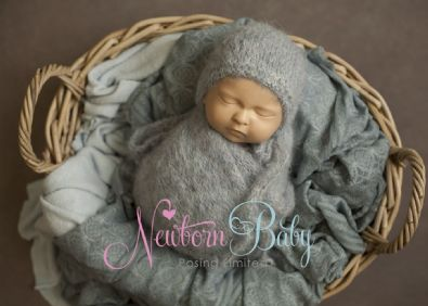 Oval Photography Basket | Newborn Baby Posing Limited